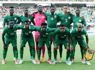 Super Eagles Drop Six Places In September FIFA Rankings