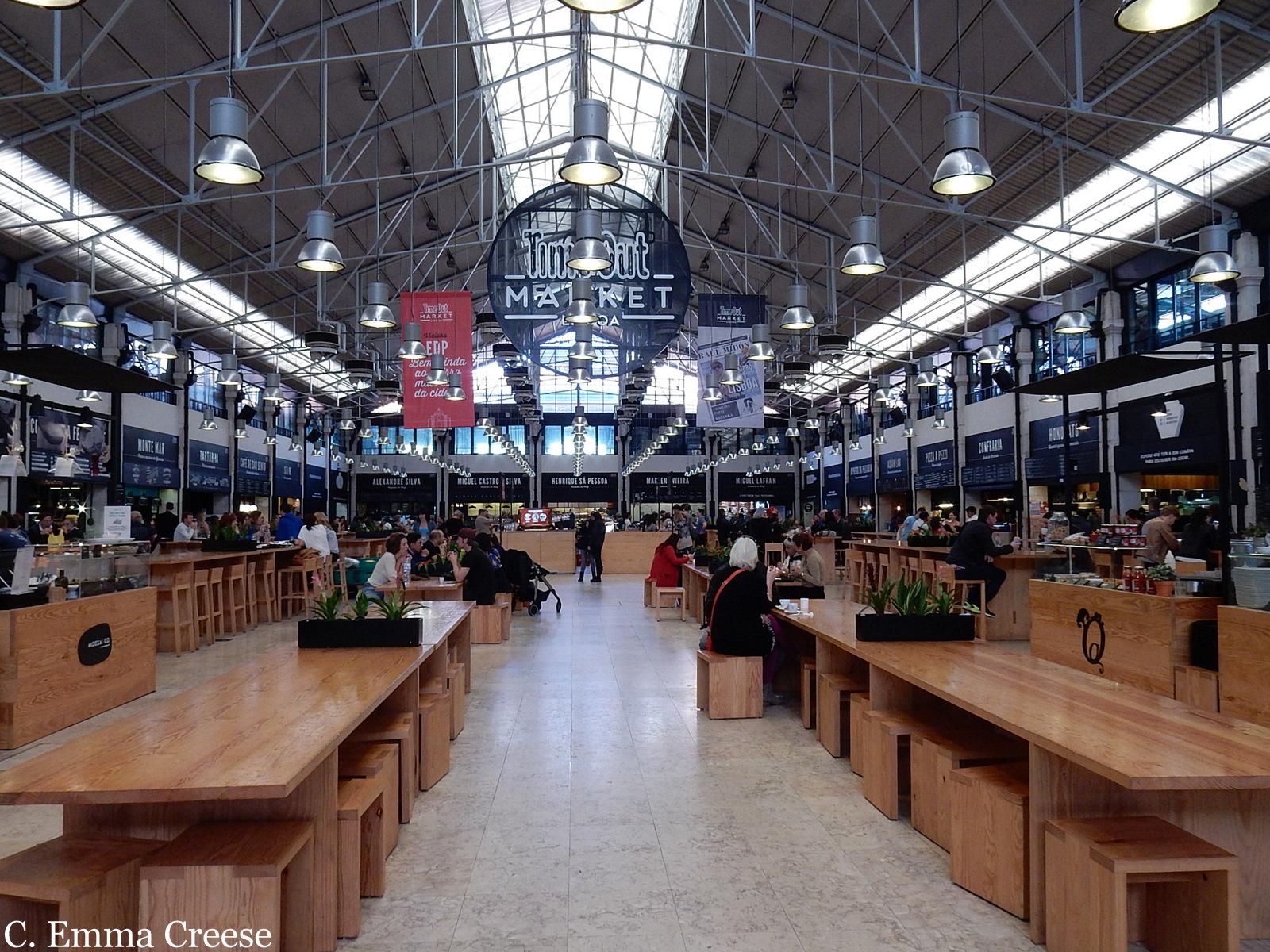 Where to eat in Lisbon Mercado de Ribeira