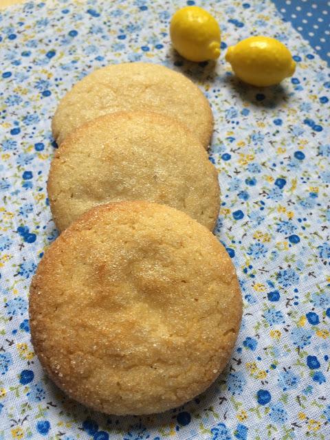 galletas de limón receta