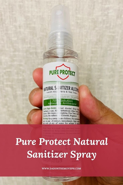 Review of Pure Protect Natural Sanitizer Alcohol
