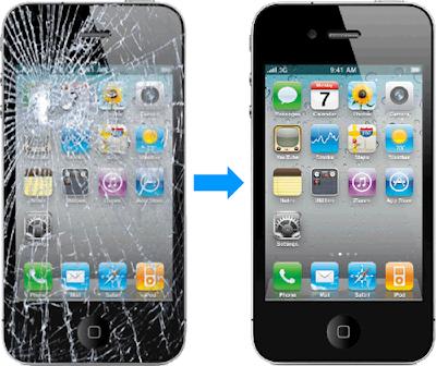 Hướng dẫn cách thay mặt kính iPhone 4
