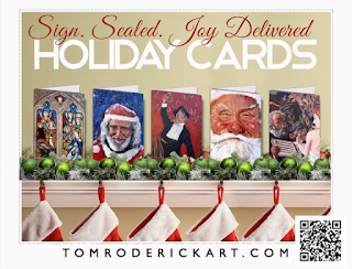 Christmas Cards by Tom Roderick Art