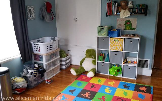 play room, nursery, baby boy nursery, dinosaur, toys, baby's first bedroom, children's room