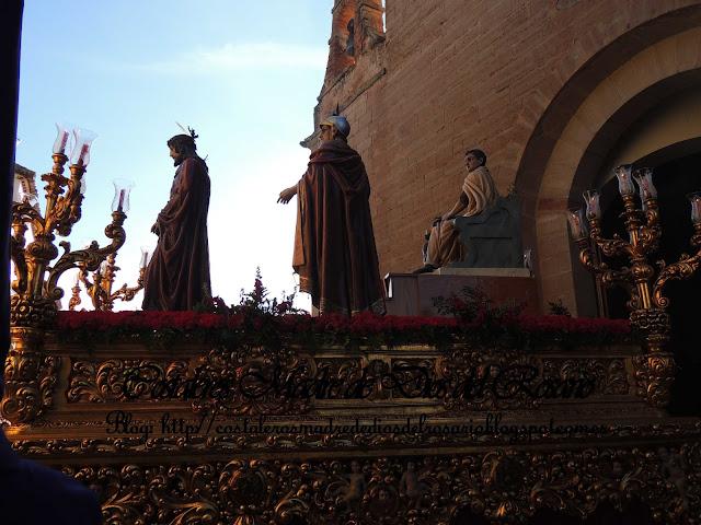 Mañana de Viernes Santo, El Nazareno camina por Villanueva de los Infantes