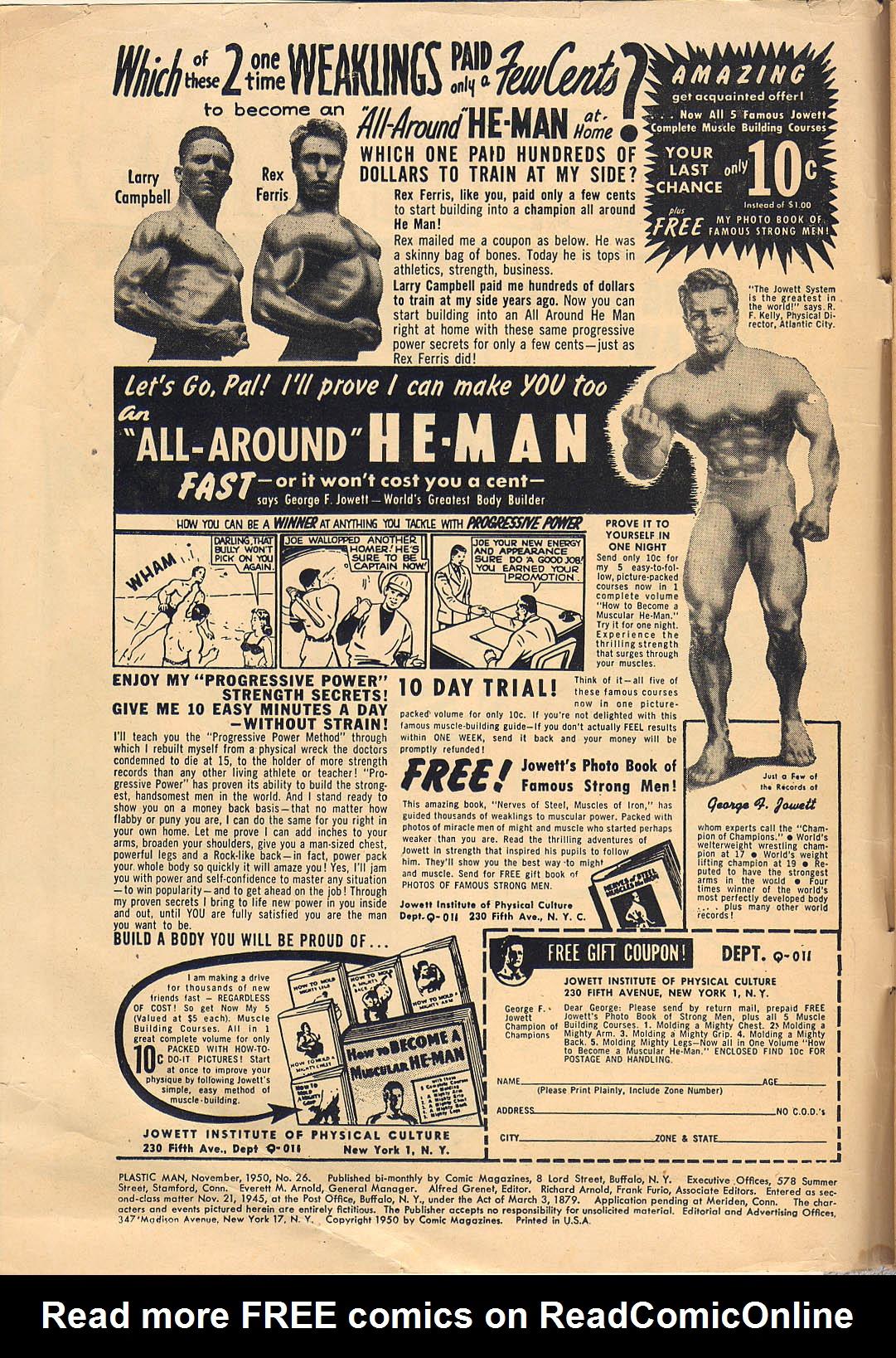 Plastic Man (1943) 26 Page 2