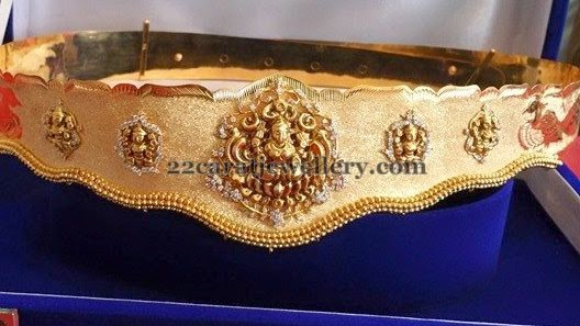 10 Different Patterned Vaddanam Designs Jewellery Designs