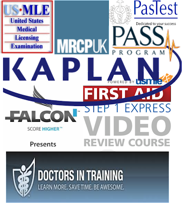 USMLE & MRCP, Videos and e-books    (Over 1200 hours for