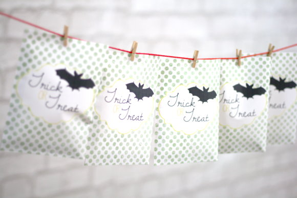 Free Printable : DIY Halloween Paper Bag