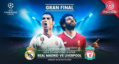 Real Madrid enfrenta al Liverpool en la gran final de la Champions League 2017/2018
