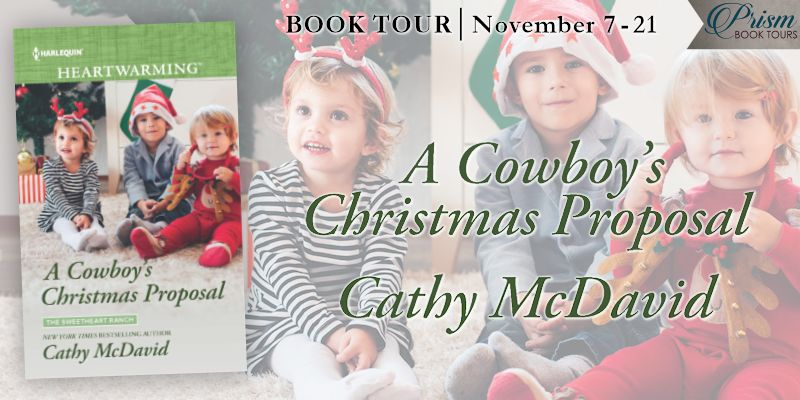 We're launching the Book Tour for A COWBOY'S CHRISTMAS PROPOSAL by Cathy McDavid!
