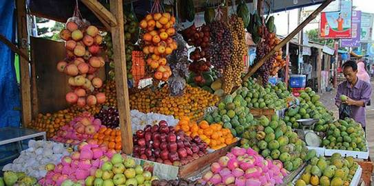 18. Jualan Buah-buahan