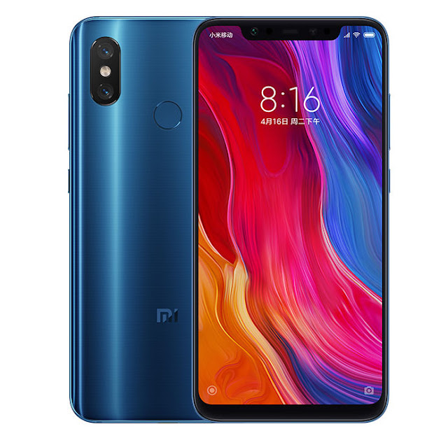 Xioami launched Mi 8 and Mi 8 Explorer Edition in China