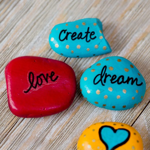best rock painting ideas that are easy to paint