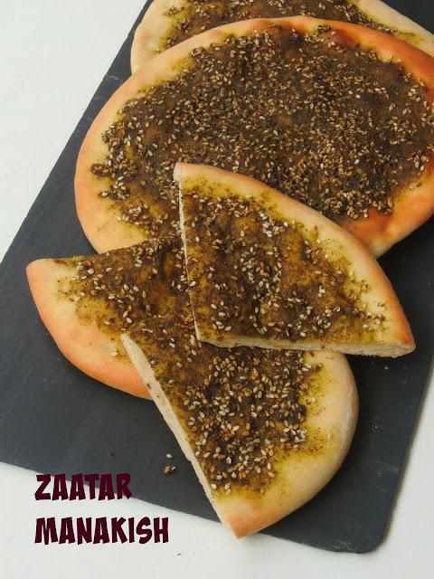 Lebanese Zaatar Manakish