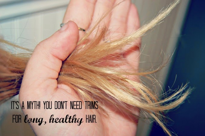 secrets to long healthy hair