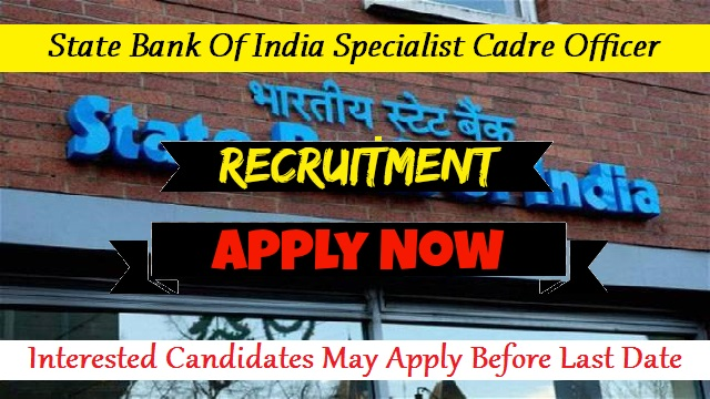 SBI Special Cadre Officer Notification 2020