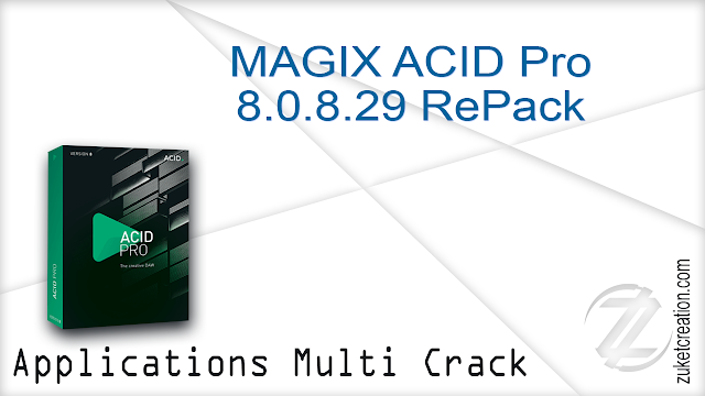 MAGIX ACID Pro 8.0.8.29 RePack   | 149 MB