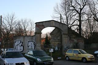 Rittergut Mockau Eingangsbogentor