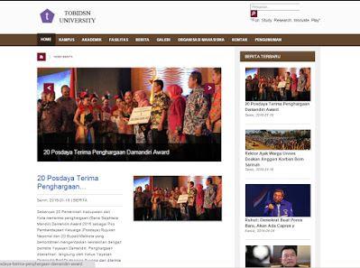 Download source code Website Portal Kampus with CodeIgniter Gratis