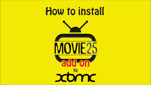 Install Movie25 Addon for XBMC-Kodi 2015 - New Kodi Addons