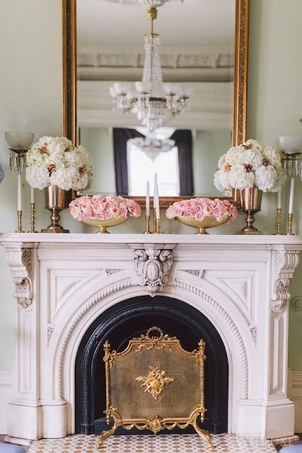 Daily Inspiration :: Interiors Fireplaces by Cool Chic Style Fashion