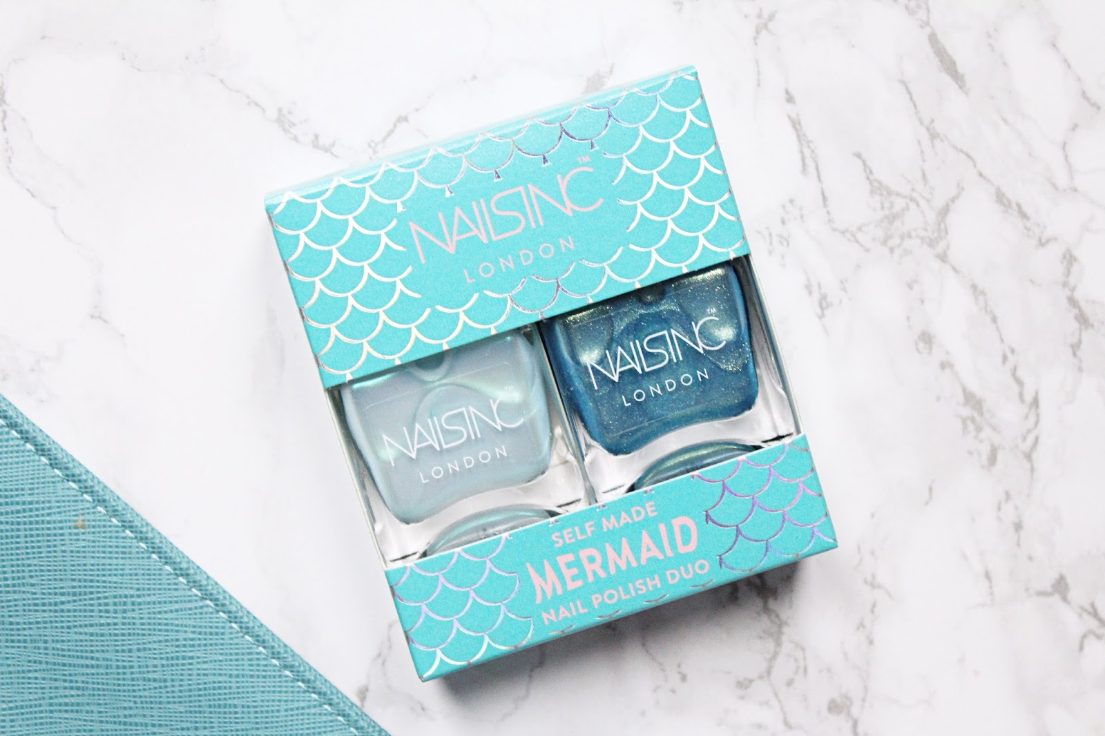 Nails Inc Self-Made Mermaid Nail Polish Duo Review