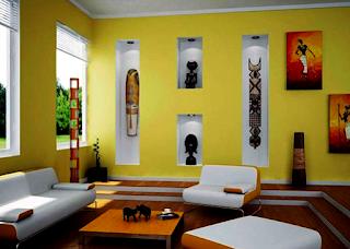 Kumpulan Trend Desain Warna Cat Ruang Tamu Terbaru