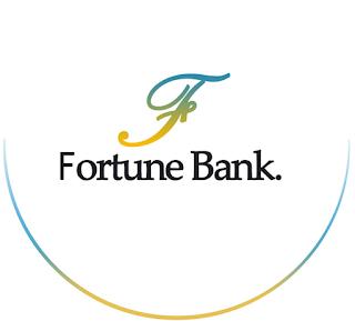 logo fortune bank, pembuatan web blog, makalah web blog
