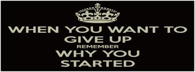 Khi bạn muốn từ bỏ Marketing Online, hãy nhớ vì sao bạn bắt đầu.