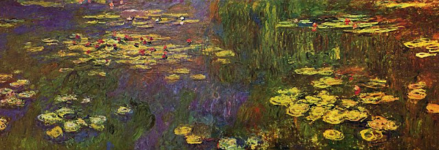 Monet's 'Water Lilies' at the Musée de l'Orangerie. Photo: WikiMedia.org.