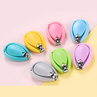 Baby Nail Clipper Colorful Droplet