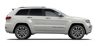 2017 Jeep Grand Cherokee Color: White