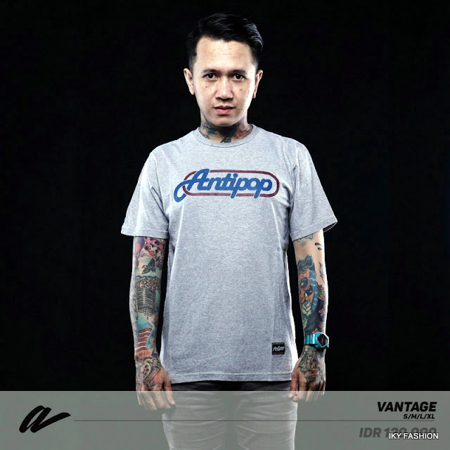 model kaos distro Anti Pop yang mendunia dan kekinian