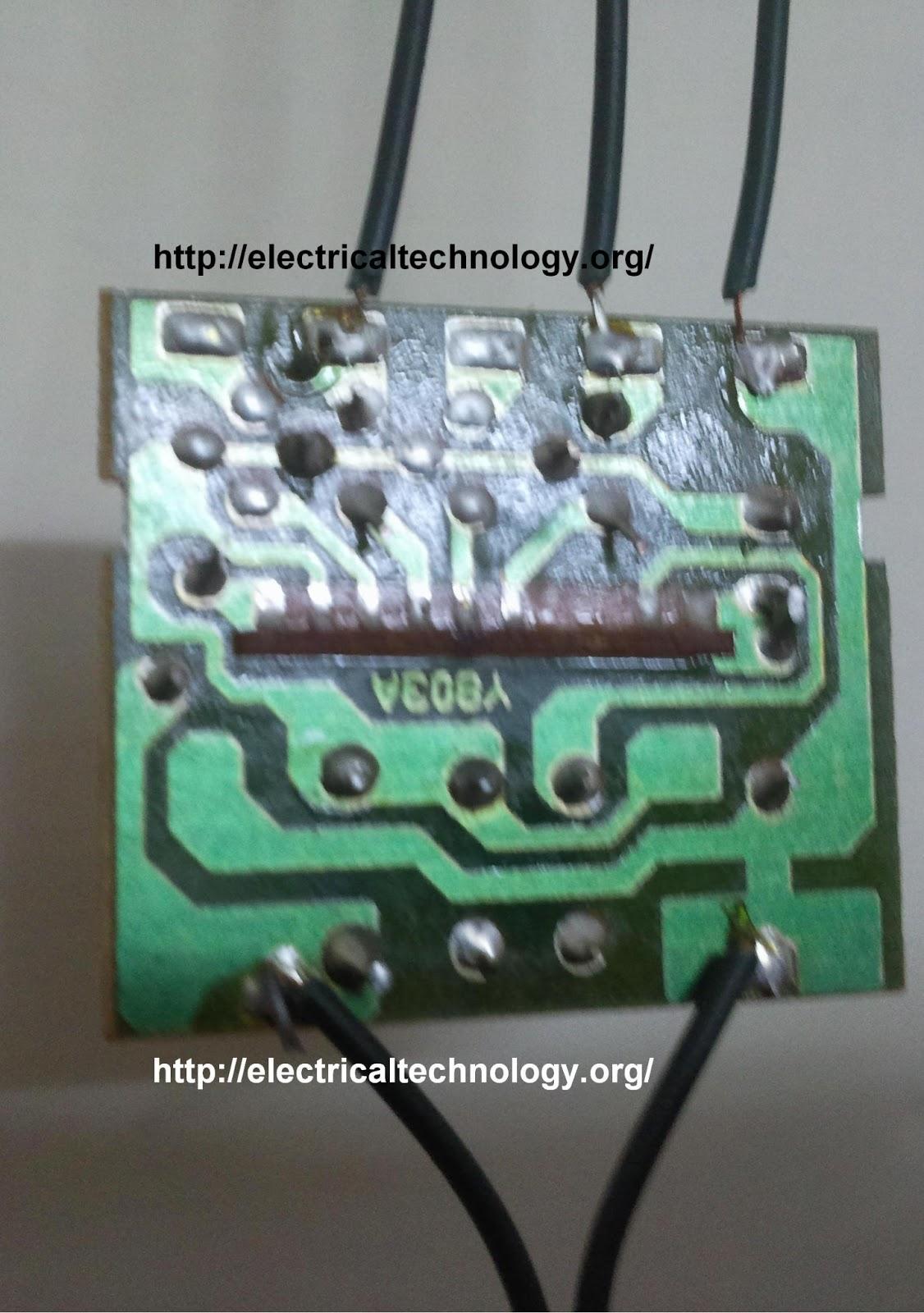 Led Stringstrip Circuit Diagram Using Pcr Httpwww Electricaltechnology Org on Box Step Dance Diagram