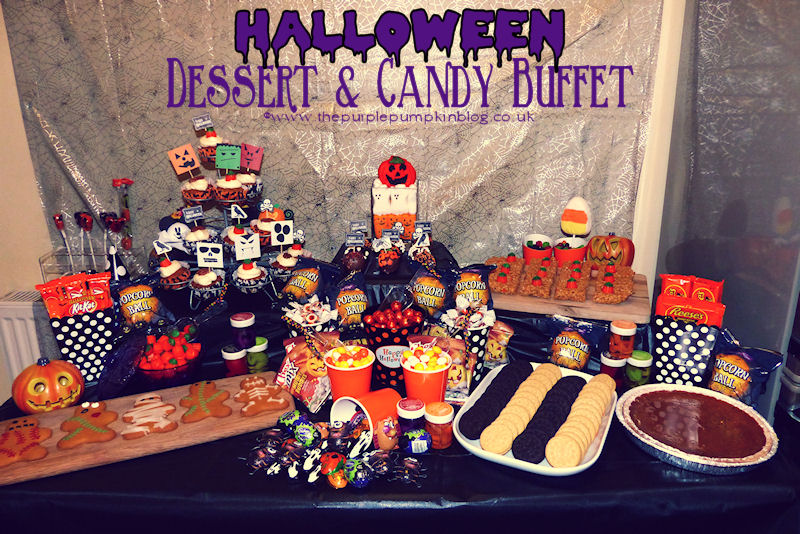 #Halloween Dessert Candy Buffet