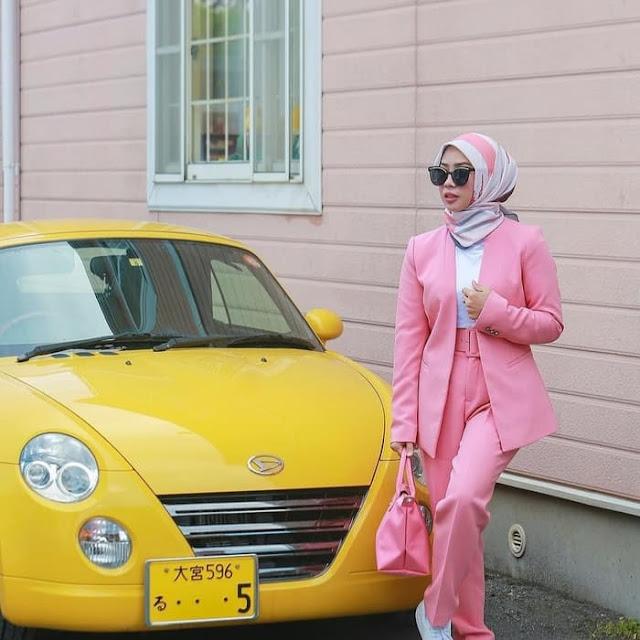 Jilbab Segi Empat Voal Vimbre 7 Termurah Harga Grosir Cantik