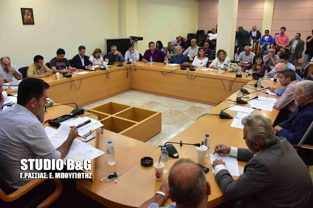 Συνεδριάζει σήμερα το Δημοτικό Συμβούλιο στο Ναύπλιο