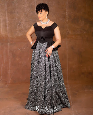 Nollywood actress Lilian Bach