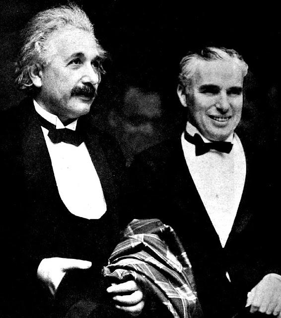 Albert Einstein Charlie Chaplin worldwartwodaily.filminspector.com