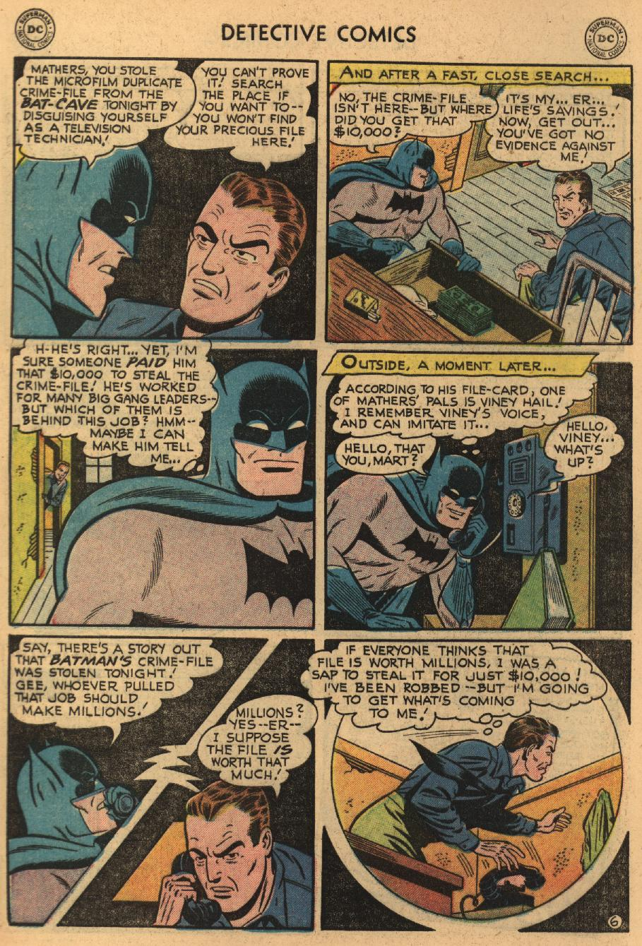 Read online Detective Comics (1937) comic -  Issue #229 - 8