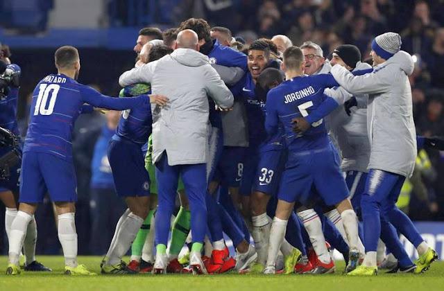 Klub Chelsea Singkirkan Tottenham Lewat Adu Pinalti