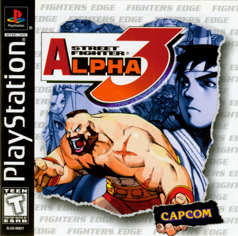 Street Fighter Alpha 3 - PS1 - ISOs Download