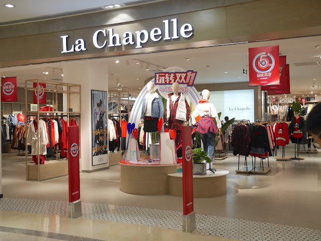 Singles Day sale at La Chapelle in Zhongshan