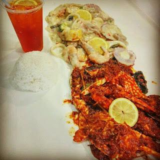 Tempat Makan Best di Miri Sarawak Adra Kitchen Shellout