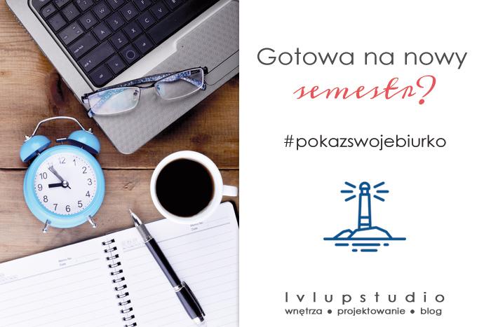 biurka polskiej blogosfery | zabawa #pokazswojebiurko | lvlupstudio