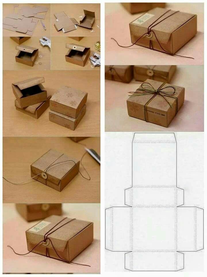 Kreasi Kotak box kado persegi