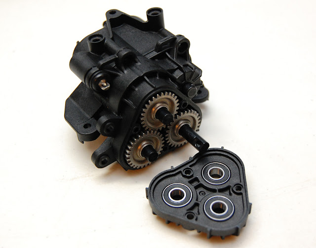 Traxxas TRX-4 transfer case assembly instructions