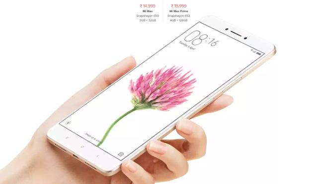 مواصفات وسعر Xiaomi Mi Max Prime بالصور والفيديو