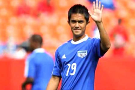 Sunil Chhetri Highest paid player of Indian Super League
