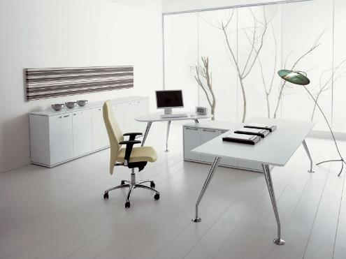 Azul blue oficinas en el hogar - Arredo ufficio moderno ...